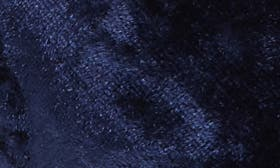 Navy Velvet Fabric swatch image