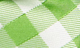 Green- White Plaid swatch image