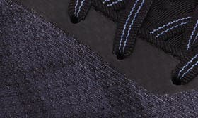 Black/ Metallic Lilac Fabric swatch image