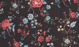 Black Fall Floral swatch image