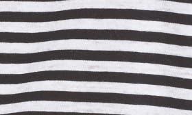 Black White Sara Stripe swatch image