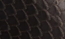 T. Moro Brown Leather swatch image