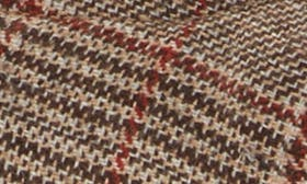 Taupe Plaid Fabric swatch image