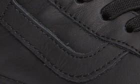 Black Mono Leather swatch image
