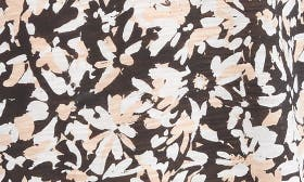 Nude/ Black Painted Floral swatch image