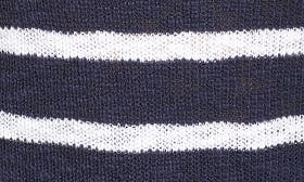 Navy- White Stripe swatch image