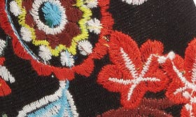 Multi Botanic Embroidery swatch image