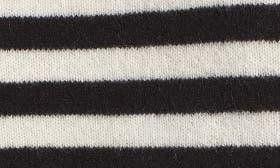 Black- Ivory Star Stripe swatch image