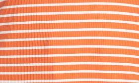 Orange Lily- White Stripe swatch image