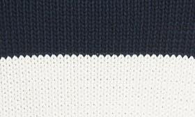 Off White/ Navy Stripe swatch image