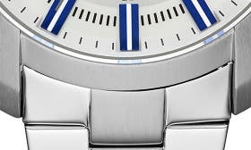 White/ Stainless swatch image