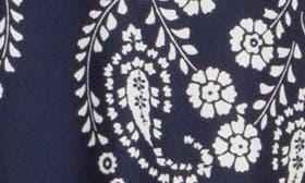 Navy/ Ivory Print swatch image