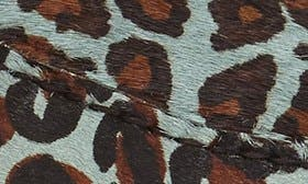 Teal Blue Leopard swatch image