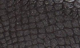 Black/ Pewter Snake Fabric swatch image