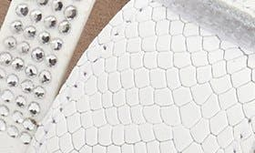 White Snake Leather swatch image