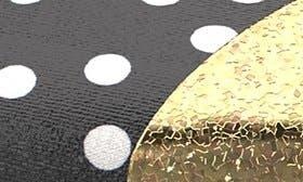 Black/ White Polka Dot swatch image