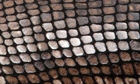 Brown Python Print Leather swatch image