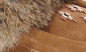 Oak Rabbit Fur Suede swatch image
