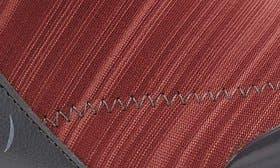 Dark Red Linear Heather Fabric swatch image