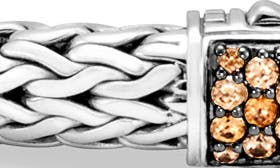 Silver/ Mandarin Garnet swatch image