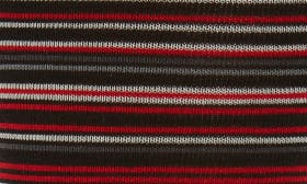 Red Stripe/ Black swatch image