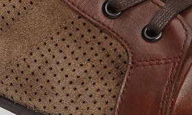 Brown Combo Leather swatch image