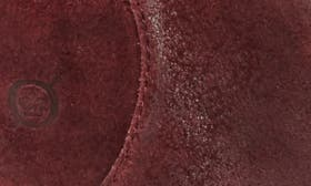 Burgundy Distressed Leather swatch image