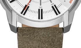 White/ Olive swatch image