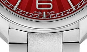 Silver/ Red/ Silver swatch image