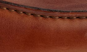 Cognac/ Dark Natural Leather swatch image