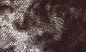 Grey Velvet Fabric swatch image selected