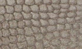 Grey Snake Embossed Leather swatch image