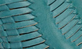 Turquoise Leather swatch image