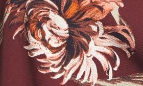 Red Tannin Nouveau Floral swatch image