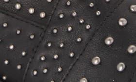 Black Tumbled Leather swatch image