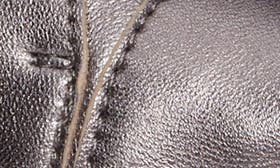 Gunmetal Leather swatch image