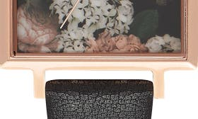 Black/ Floral/ Rose Gold swatch image