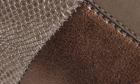 Asphalt/ Kombi Leather swatch image