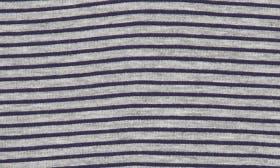 Heather/ Navy Stripe swatch image