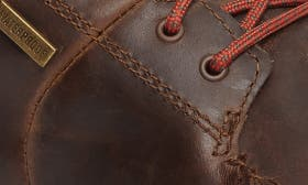 Carob/ Black Leather swatch image