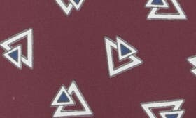 Deco Triangle Deep Currant swatch image