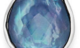 Mother Of Pearl/ Lapis swatch image