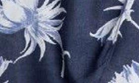 Dress Blue Cadaques Flower swatch image