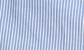 Blue White Stripe swatch image