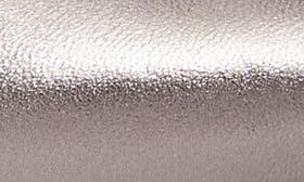 Pewter Metallic Leather swatch image