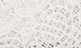 Ivory Attalie Lace Fabric swatch image