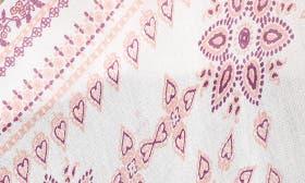 Pink Starflower Paisley Print swatch image