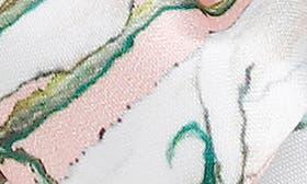 Pink Floral Satin swatch image