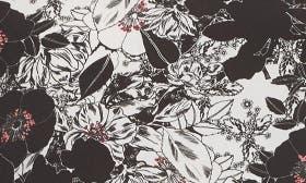Black- Ivory Cloud Florals swatch image