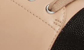 Blush/ Black Leather swatch image